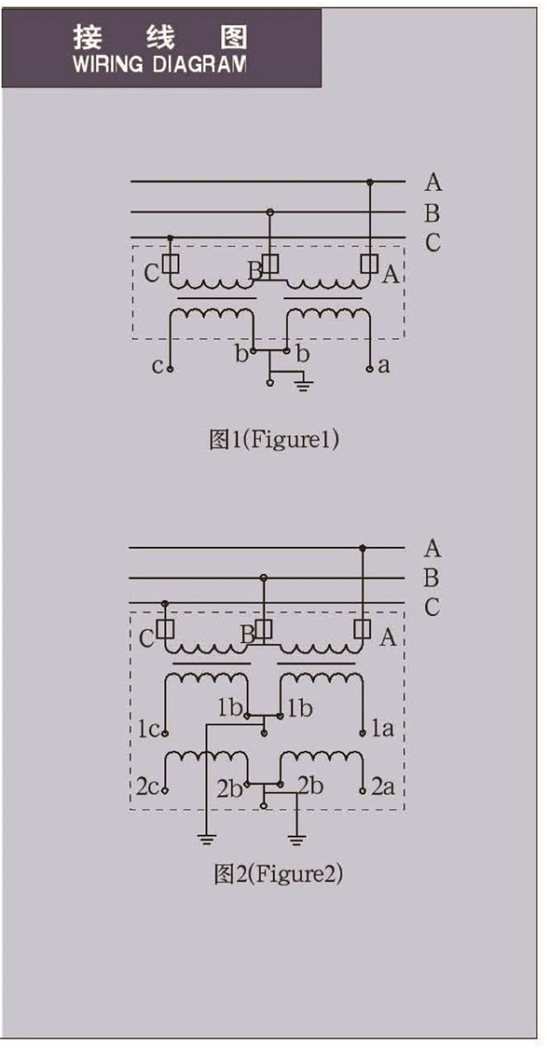 Jdzv16 35r Fully Enclosed Indoor Three Phasevoltage Low Voltage Transformer Wiring Diagram The Function Of Instrument Is To Change High Or Current Standard 100v